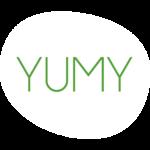 Yumy logo wit